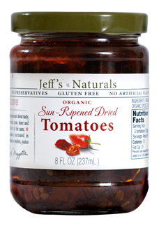Jeff's Naturals - Sun-Ripened Dried Tomatoes