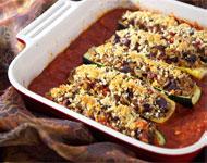 Jeff's Naturals - Mediterranean Stuffed Zucchini