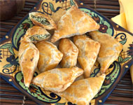 Jeff's Garden Spinach & Feta Stuffed Olive Turnovers