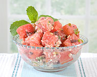 Jeff's Naturals - Watermelon, Olive, Jalapeño and Feta Salad