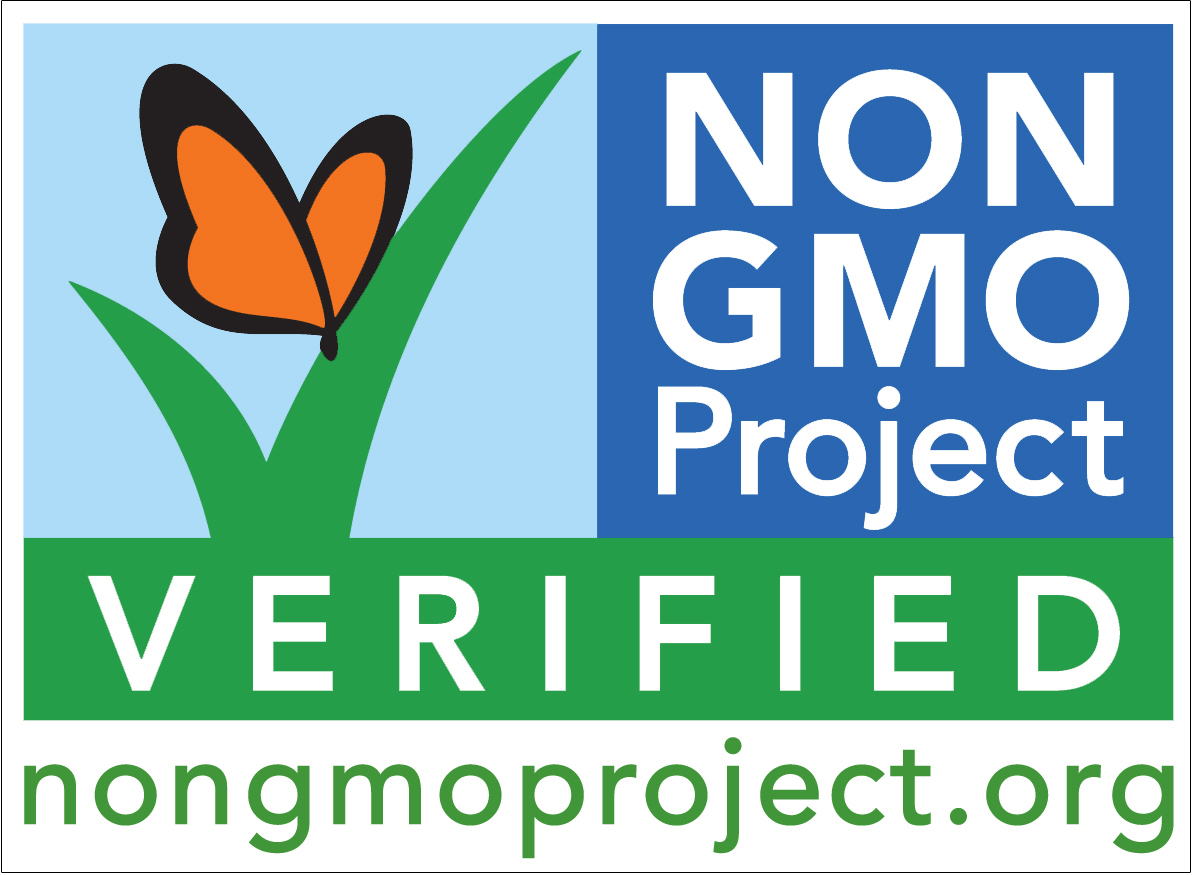 All Jeff's Naturals products are certified Non-GMO