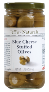 Jeffs Naturals Blue Cheese Stuffed Olives