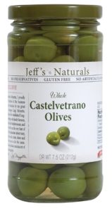 Jeffs Naturals Whole Greek Kalamata Olives