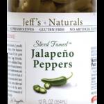 Jeff's Naturals Sliced Tamed Jalapenos