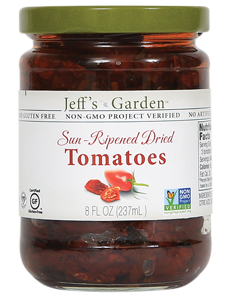 Jeffs Naturals Sun-Ripened Dried Tomatoes