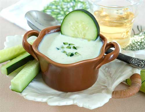 Recipe: Cold Peperoncini and Cucumber Yogurt Soup
