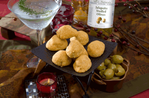Recipe: Baked Jalapeño Stuffed Cheddar Puffs