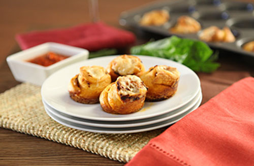 Recipe: Sun-Ripened Dried Tomato Crescent Rolls