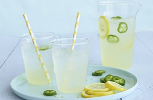 Jeff's Spiked Jalapeño Lemonade