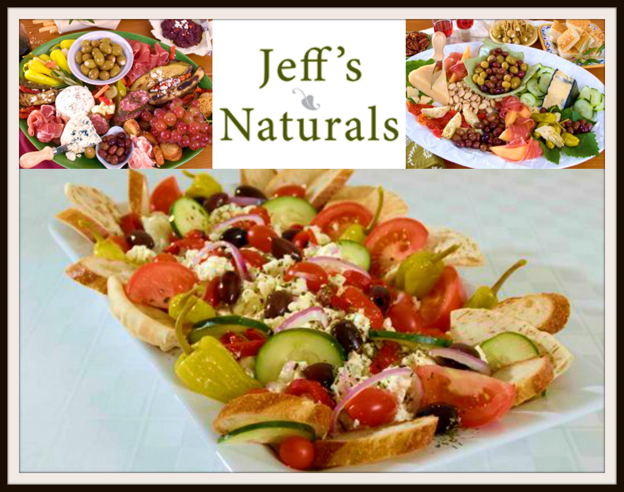 Jeff's Naturals Antipasto Platter