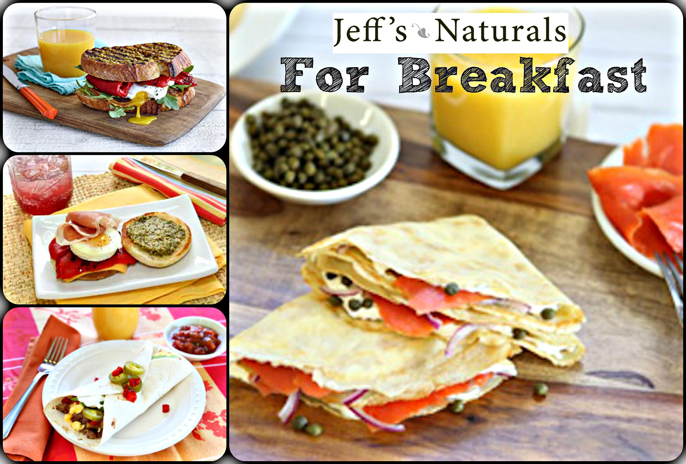Jeff's Naturals for Breakfast