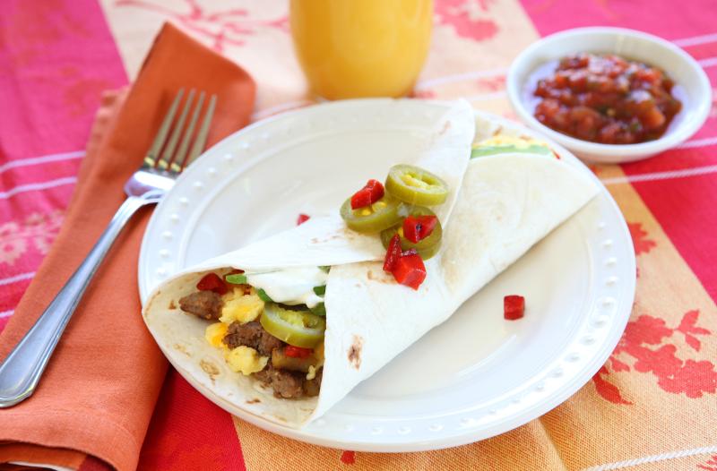 Jeff's Naturals Breakfast Burrito