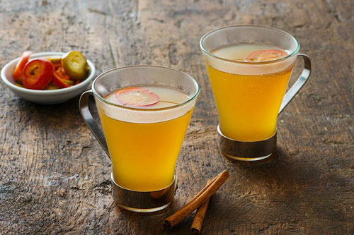 Jeff's Spiked Hot Apple Cider