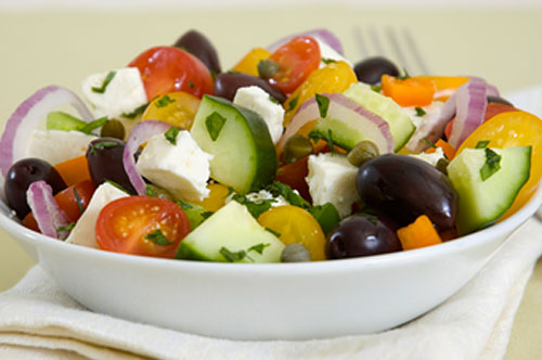 Jeff's Naturals Greek Salad