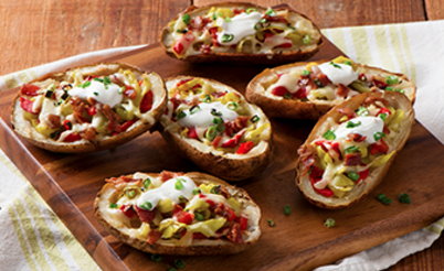Jeff's Naturals Loaded Pepper Potato Skins