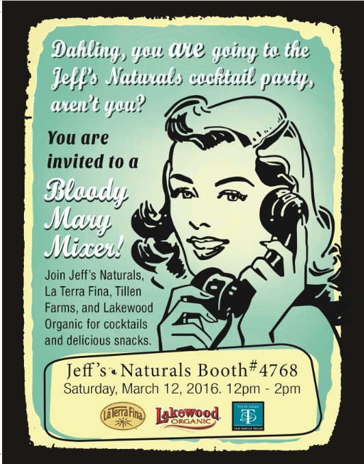 Natural Products Expo West Cocktail Pary