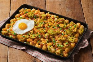 Jeff's Breakfast Tater Tot Nachos