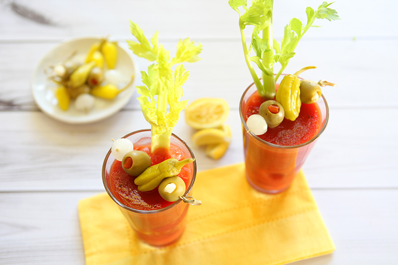 Jeff's Garden Bloody Mary