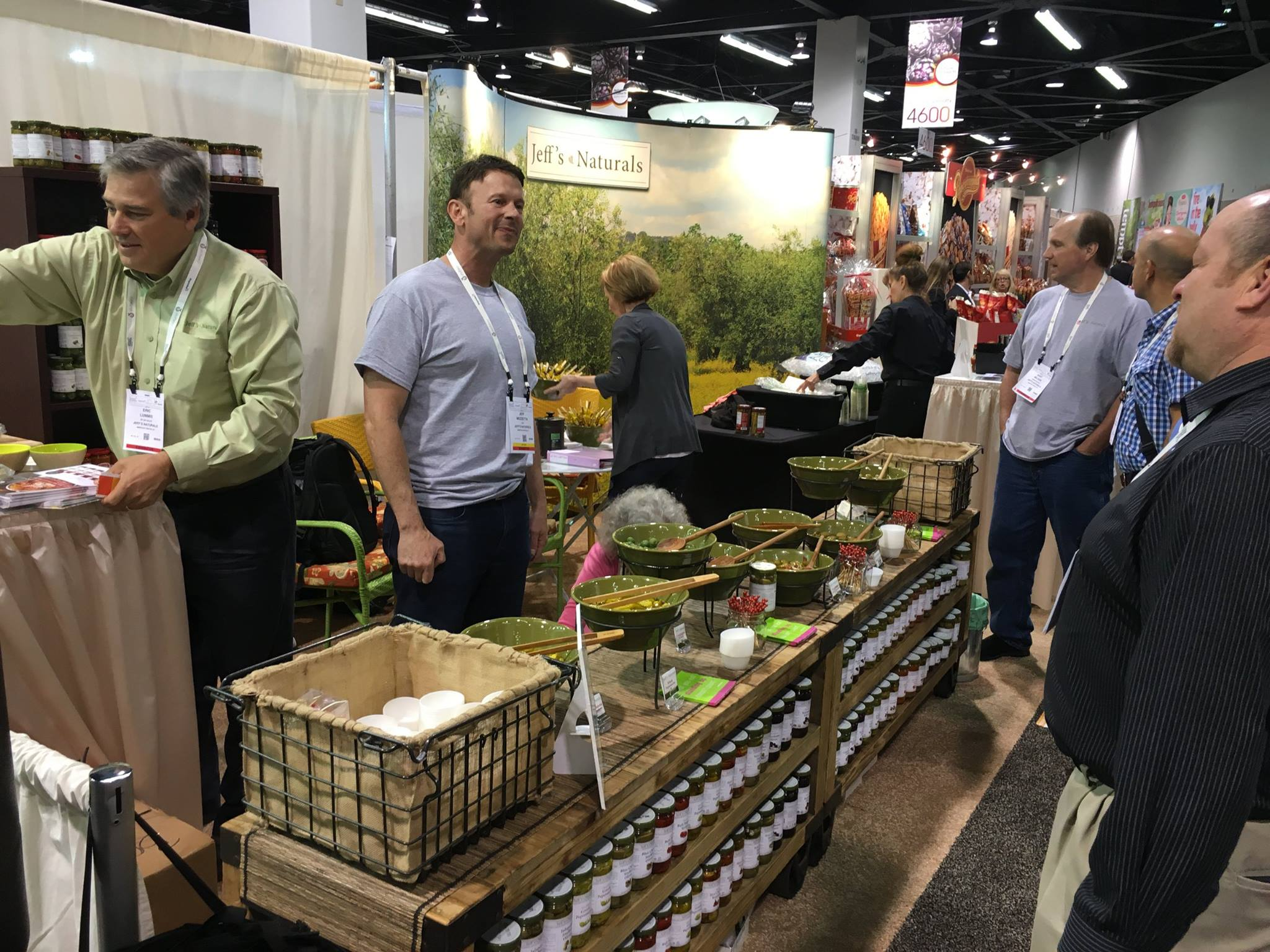 Jeff's Naturals Booth at Expo West