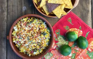 Mexican Street Corn Salsa with Jeff's Naturals Diced Tamed Jalapeño Peppers