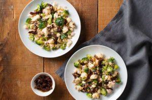 Jeff's Naturals: Broccoli-Cauliflower Salad with Sun-Ripened Dried Tomatoes