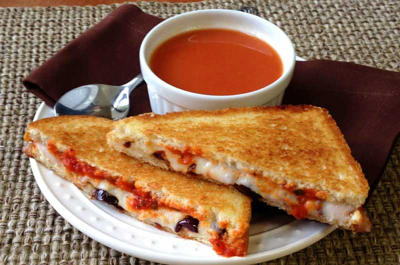 Jeff's Naturals: Pizza Lovers Grilled Cheese
