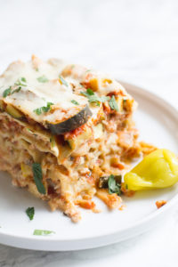 Crock Pot Vegetable Lasagne