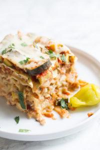 Crock Pot Vegetable Lasagne