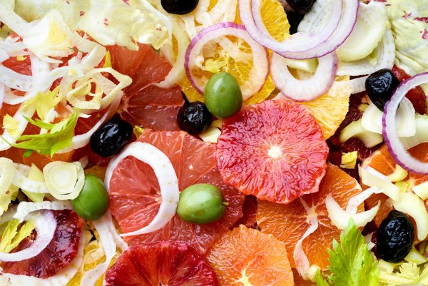 Citrus and Olive Salad