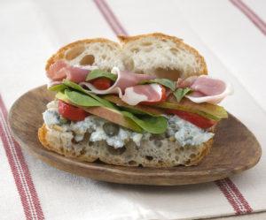 Jeff's Prosciutto Pear Sandwich