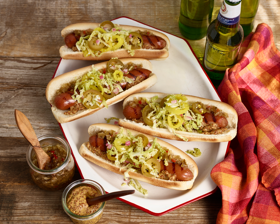 Grilled_Hot_Dogs_Double_Pepper_Slaw