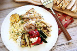 Medi Grilled Platter
