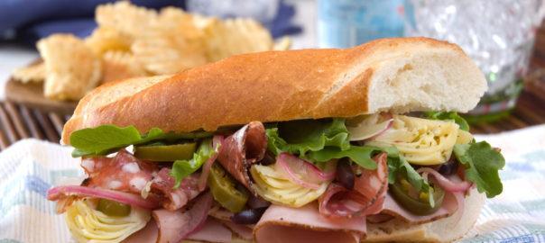 Napa Valley Picnic Sandwich
