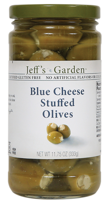 Jeff's Garden Blue Cheese Stuffed Olives