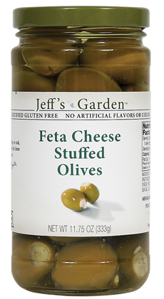 Jeffs Garden Feta Cheese Stuffed Olives