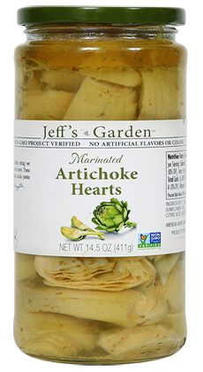 Jeffs Garden Marinated Artichoke Hearts