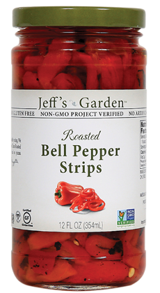 Jeffs Garden Roasted Red Bell Peppers