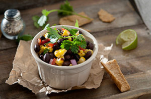 Black Bean & Roasted Red Pepper Salsa